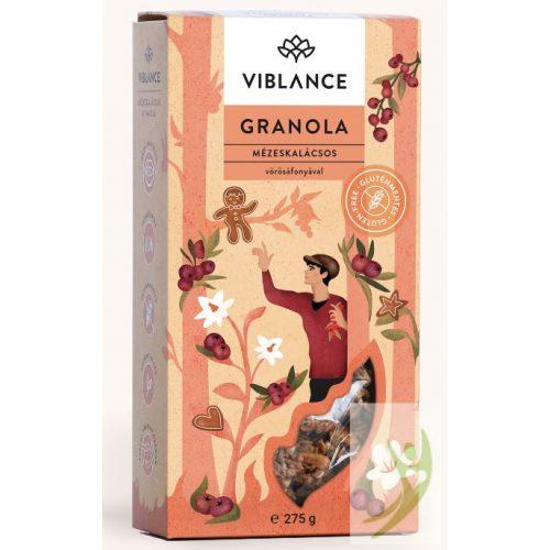 Viblance Granola - Mézeskalácsos 275 g