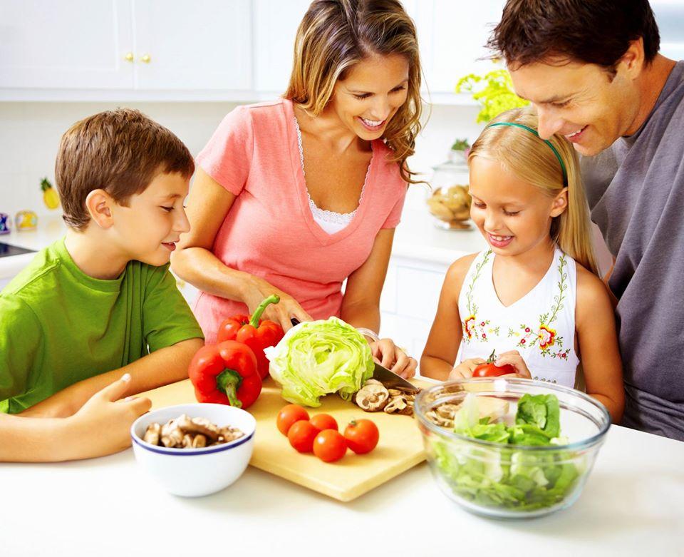 A közös családi étkezések fontossága