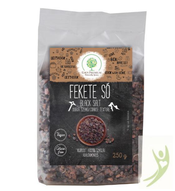 Éden Prémium Fekete só DURVA szemű 250 g