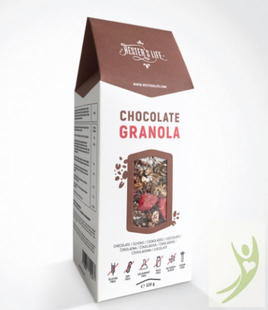 Hester's Life CHOCOLATE Granola - Gluténmentes Csokoládés Granola 320 g