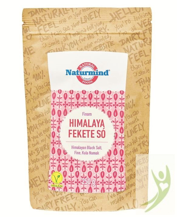 Naturmind Himalaya Fekete só FINOM szemű 250 g
