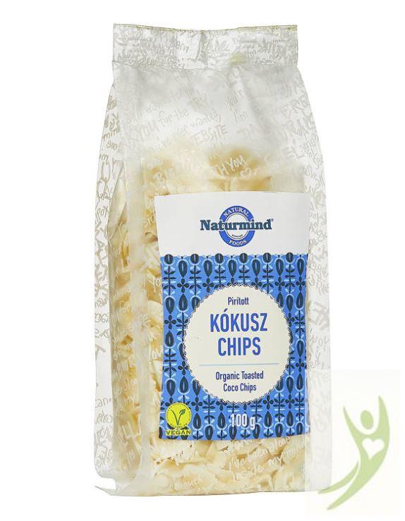 Naturmind Gluténmentes pirított Kókusz chips 100 g