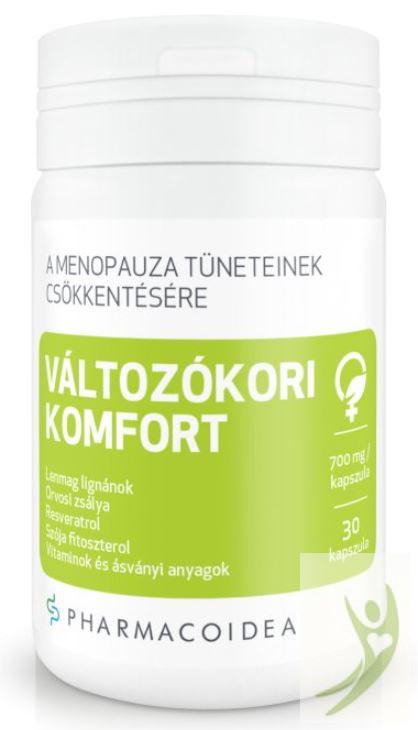 Pharmacoidea VÁLTOZÓKORI Komfort kapszula 30 db