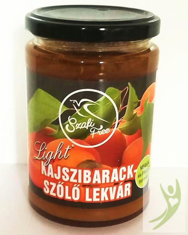 Szafi Free Light kajszibarack - szőlő lekvár 350 g